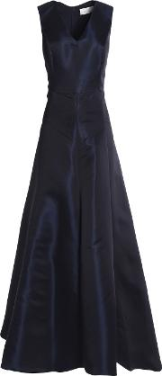 Woman Faille Gown Navy Size 12