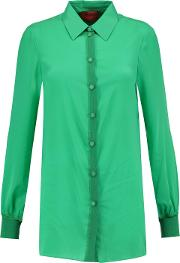 Stretch Silk Blend Shirt