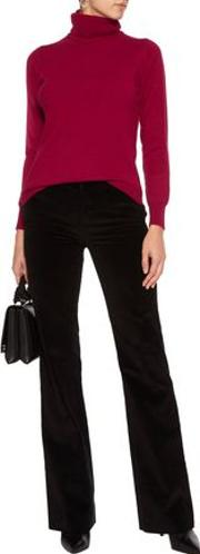 N.peal Woman Cashmere Turtleneck Sweater Burgundy Size Xs