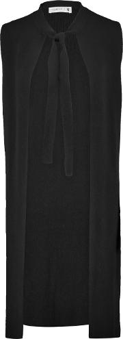 Woman Cashmere Vest Black
