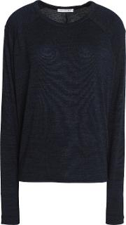 Woman Fine Knit Navy
