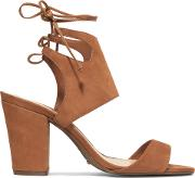 Woman Celly Nubuck Sandals Brown Size 9
