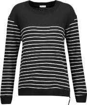 Adelaide Striped Cotton Blend Sweater