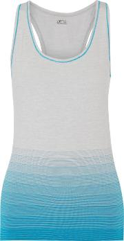&reg Woman Lauren Printed Ponte Jersey Top Azure