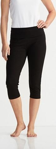 Cropped Roll Top Trousers