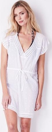 Lace Edge Beach Cover Up