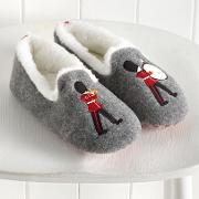 London Applique Slippers