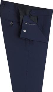 Bond Skinny Fit Ultimate Stretch Suit Trousers In Navy Wool Blend