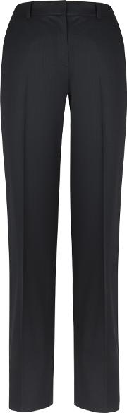 Hamilton Black Bi Stretch Trousers
