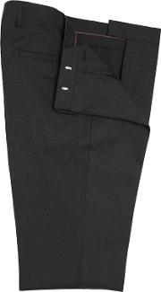 Hoxton Dark Charcoal Slim Fit Suit Trousers