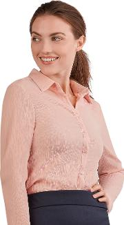 Loose Fit Pink Blouse