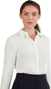 Loose Fit White Blouse