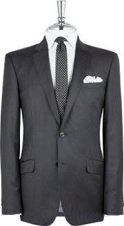 Muswell Charcoal Stripe Slim Fit Jacket