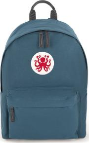 Art Disco Blue Octopus Backpack