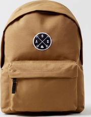 Brown  Tan Backpack