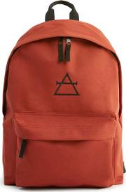 Mens Art Disco Rust Backpack