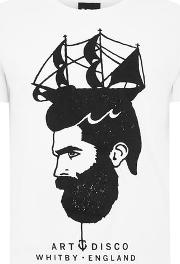White 'high Seas' T Shirt