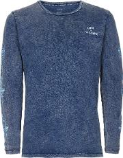 Acid Wash Long Sleeve T Shirt