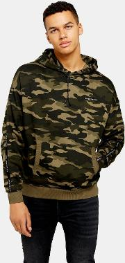 Camouflage Oversized Hoodie