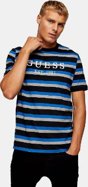 Guess , Black And White Essential T Shirt