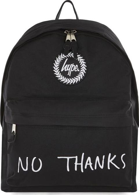 18e61263995c hype Hype Black  no Thanks  Backpack
