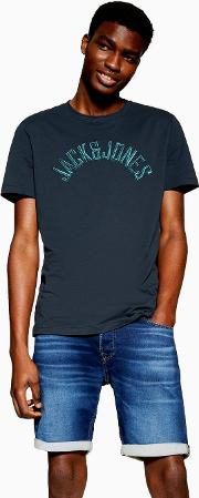 Embroidered Chest Logo T Shirt