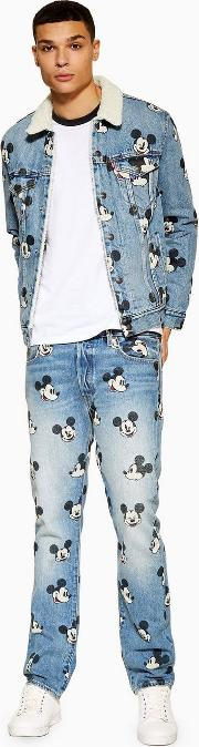 501 Mickey Mouse Jeans