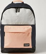 Multi 's Pink And Blue Backpack