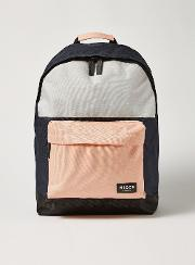 Pink And Blue Backpack