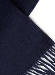 Blue  Navy Wool Scarf