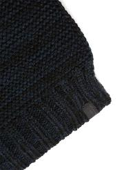 Mens Blue  Navy Woven Scarf