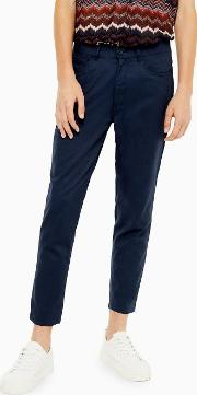 Cotton Dobby Trousers