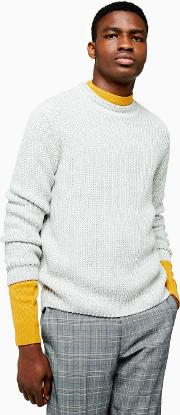 Light  Chunky Knitted Jumper