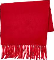 Mens Chilli Red Scarf