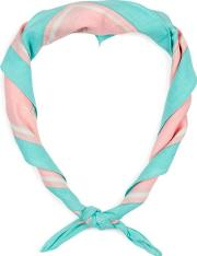 Mens Multi Pink And Turquoise Cactus Bandana