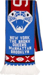 Multi Five Districts Football Scarf