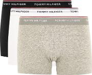 Tommy Hilfiger Assorted Colour Trunks 3 Pack