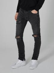 Washed  Stacker Jeans