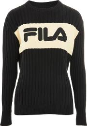 Womens Crew Neck Knitted Jumper By Fila
