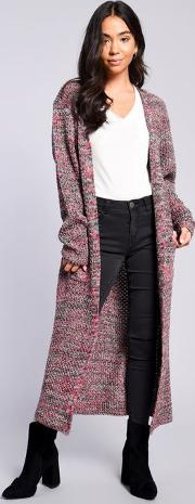 Womens Multi Knitted Cardigan By