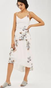 Tiered Camisole Dress In Floral Print