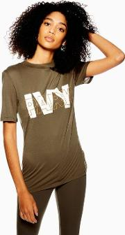 Layer Logo Fitted T Shirt
