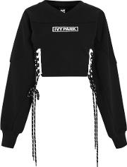 Womens Ribbon Lace Up Jumper By Ivy Park