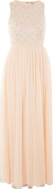 Picasso Embellished Maxi Dress