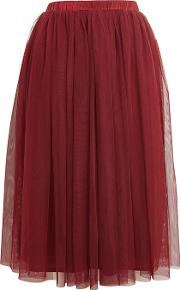 Womens Tulle Midi Skirt By Lace & Beads