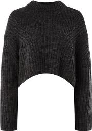 Womens Crew Neck Knitted Jumper By Native Youth