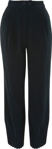 Womens Pleated Hem Trousers By Native Youth