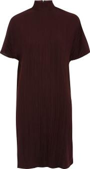 Womens Plisse Shift Dress By Native Youth