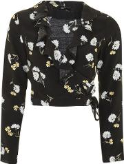 Womens Kate Daisy Ruffle Crop Blouse By Nobody's Child