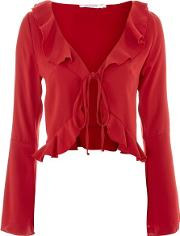 Womens Blouse With Frilled Edge By Oh My Love
